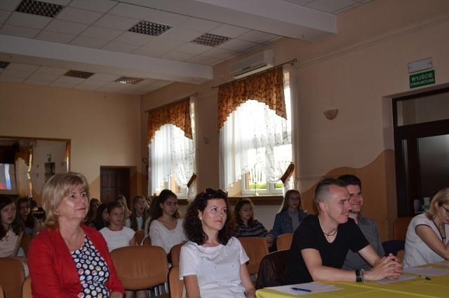 Zespół Szkół w Chorzelowie X GMINNY KONKURS PIOSENKI ANGIELSKIEJ