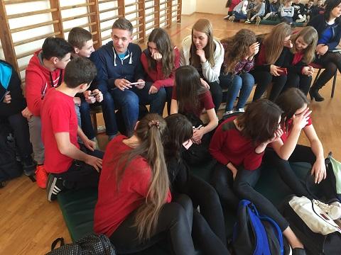 Zespół Szkół w Chorzelowie Walentynki 2017