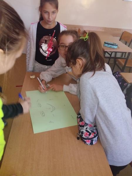 Zespół Szkół w Chorzelowie Andrzejki w piatych klasach