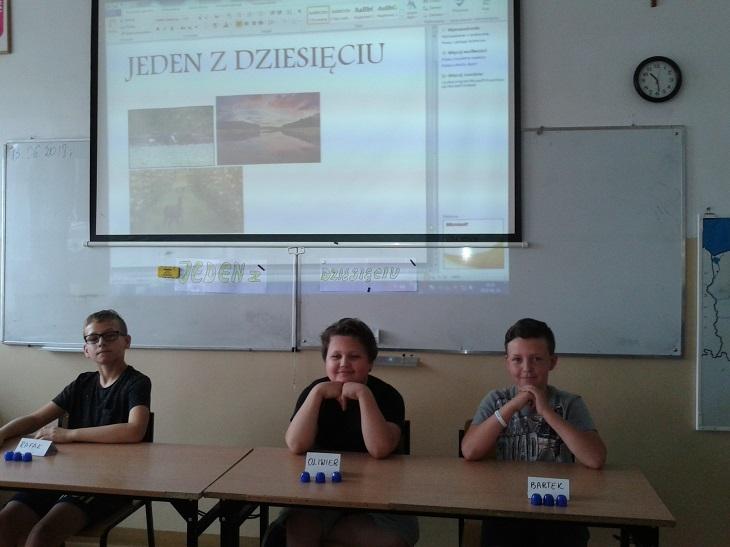 Zespół Szkół w Chorzelowie Jeden z dziesięciu - Rafał najlepszy