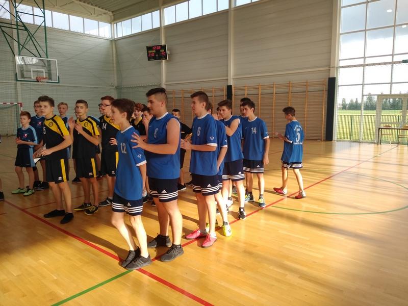 Zespół Szkół w Chorzelowie Sukcesy koszykarzy z Chorzelowa