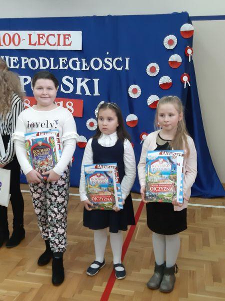 Zespół Szkół w Chorzelowie Plastyczne sukcesy najmłodszych