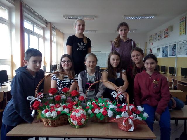 Zespół Szkół w Chorzelowie Warsztaty bibułkarskie