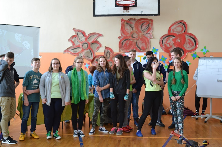 Zespół Szkół w Chorzelowie Witaj Wiosno!!!