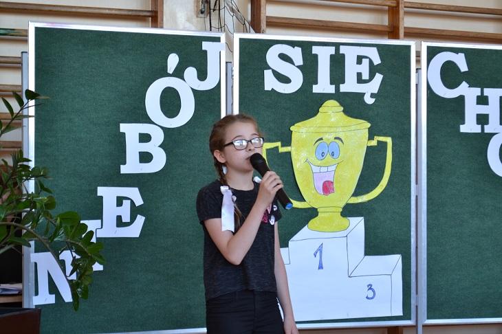 """Zespół Szkół w Chorzelowie Nie bój się chcieć"""" – apel podsumowujący II półrocze"""