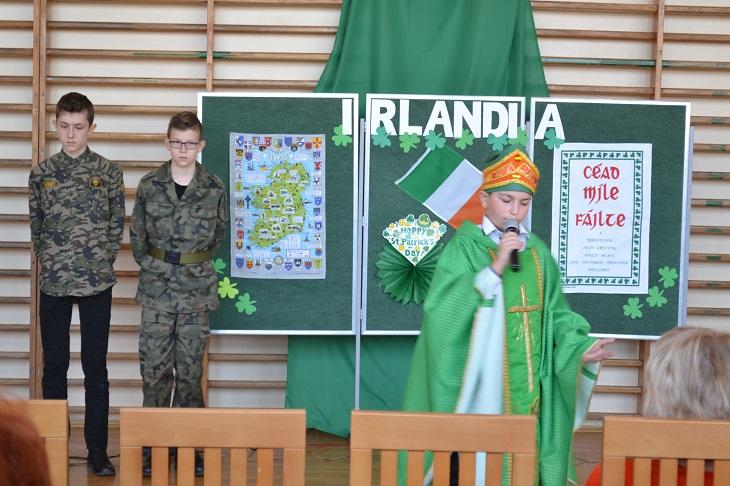 """Zespół Szkół w Chorzelowie """"Irlandia – zielona wyspa"""""""