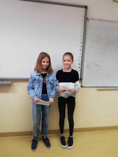 Zespół Szkół w Chorzelowie Dzień Chłopaka w klasie VI c