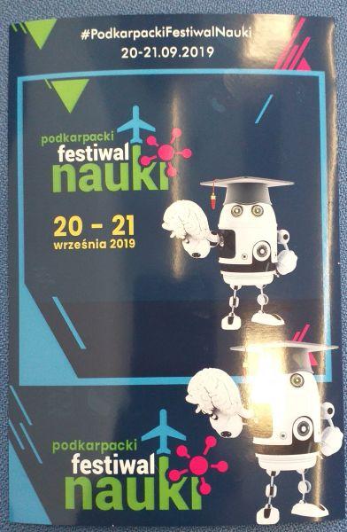 Zespół Szkół w Chorzelowie Podkarpacki Festiwal Nauki