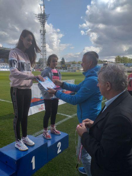 Zespół Szkół w Chorzelowie Lekkoatleci na medal!