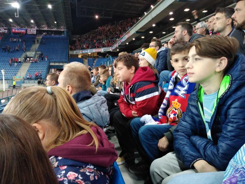 Zespół Szkół w Chorzelowie Z wizytą na stadionie Wisły Kraków