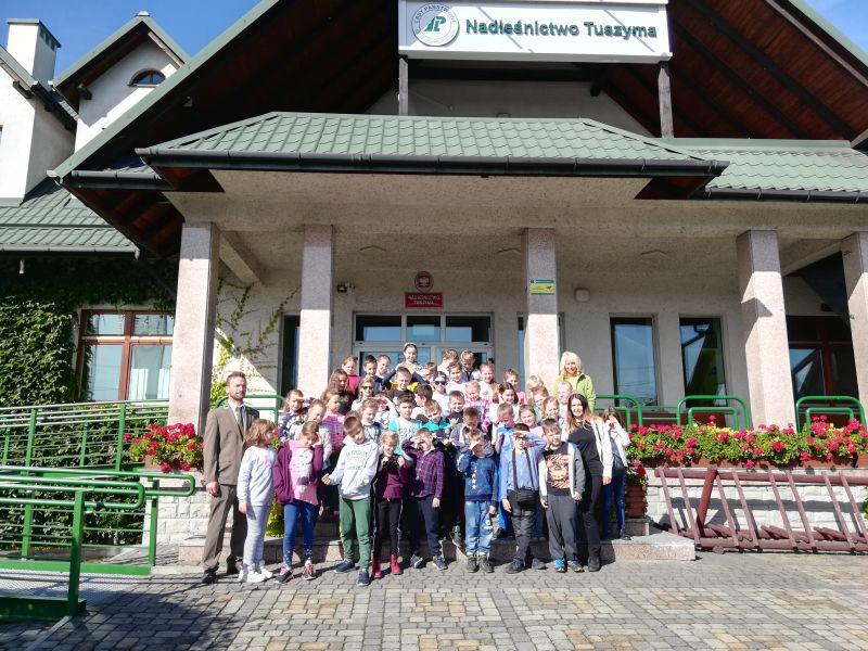 Zespół Szkół w Chorzelowie Spotkanie z przyrodą w Nadleśnictwie Tuszyma
