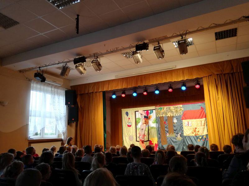 Zespół Szkół w Chorzelowie 'Zagubione bajeczki' - spotkanie z żywym słowem