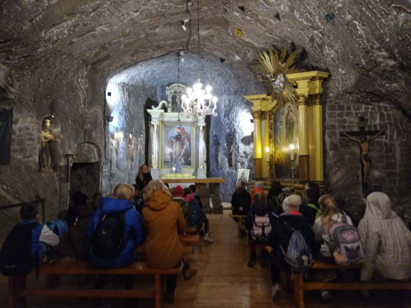 Zespół Szkół w Chorzelowie Wycieczka do Kopalni Soli w Bochni