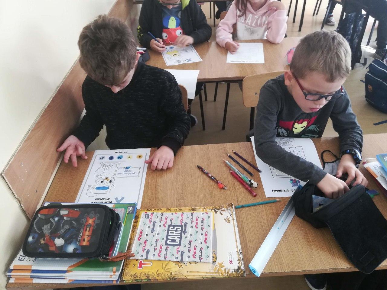 Zespół Szkół w Chorzelowie Światowy Dzień Tabliczki Mnożenia