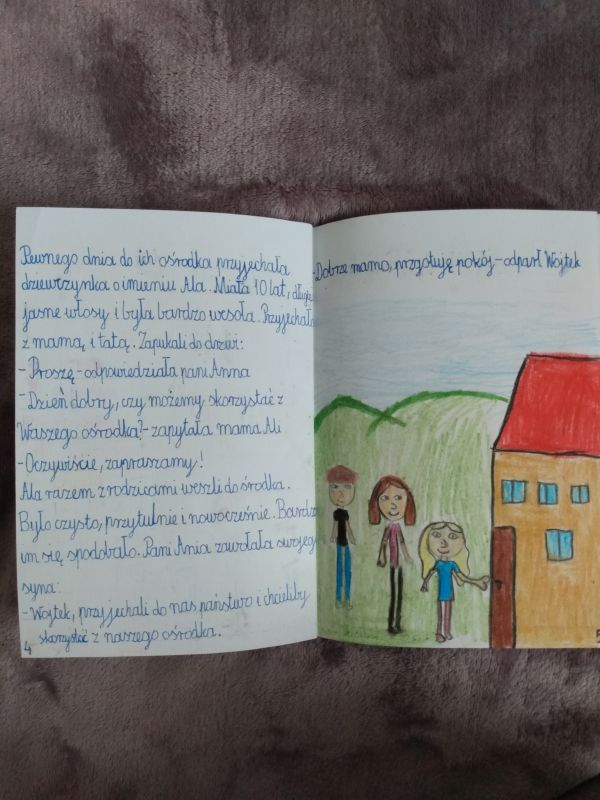 Zespół Szkół w Chorzelowie 'Moja własna książka'
