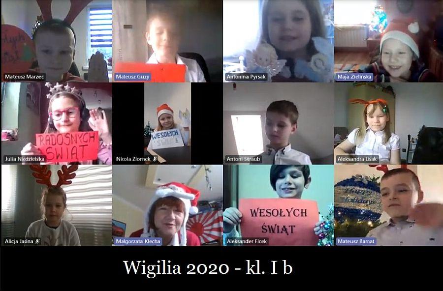 Zespół Szkół w Chorzelowie Wigilia klas I - III