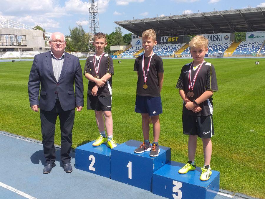 Zespół Szkół w Chorzelowie Sukces młodych lekkoatletów